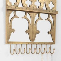 Magical Thinking Mirrored Jewelry Holder Wall Hook-