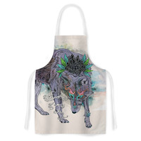 "Mat Miller ""Journeying Spirit"" Wolf Artistic Apron"