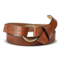 Women's Belt With Gold Loop And Knot - Merona™