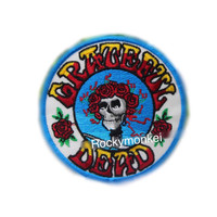 Grateful Dead Band patch Logo patch badge patch Embroidered patch Sew on patch Iron on patch Applique
