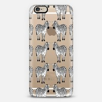 ZEBRAS iPhone 6 case by Katie Reed | Casetify