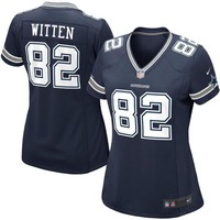 Women's Dallas Cowboys Jason Witten Nike Navy Blue Game Jersey