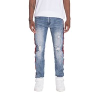 MENS JEANS RACER DENIM- BLUE