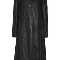 Lemaire - Oversized coated cotton-blend trench coat
