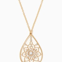 Yasmeen Teardrop Pendant | Fashion Jewelry – Moroccan Muse | charming charlie