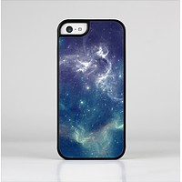 The Subtle Blue and Green Nebula Skin-Sert Case for the Apple iPhone 5c
