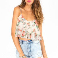 Go With the Floral Top $21