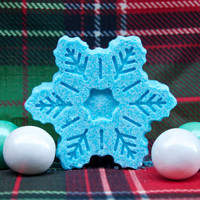 Snowflake Bath Bomb: Choose your own scent!