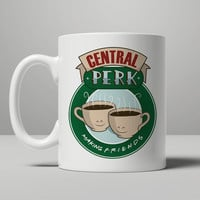 Central Perk Making Friends Mug, Tea Mug, Coffee Mug