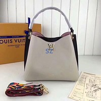 lv louis vuitton women leather shoulder bags satchel tote bag handbag shopping leather tote crossbody 115