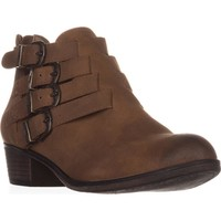AR35 Darie Strappy Ankle Boots, Tan, 8.5 US