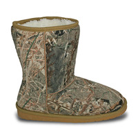 Women's Mossy Oak 9-inch Boots - Duck Blind