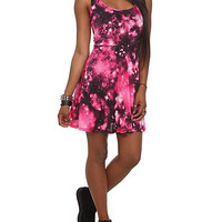 Pink Galaxy Dress | Hot Topic