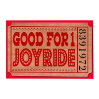 Romance Wood Ticket Joyride