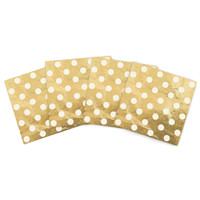 """KESS Original """"Scattered White"""" Indoor/Outdoor Place Mat (Set of 4)"""