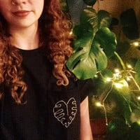 Philodendron Pocket T Shirt