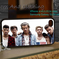 one direction cool iPhone case, iPhone 4/4S, iPhone 5/5S, iPhone 5c, Galaxy S3 i9300, S4 i9500, Design By Custom And Clothing