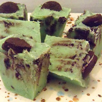 Mint Oreo Fudge One Pound (1 lb) Yummy Creamy Gourmet Fudge
