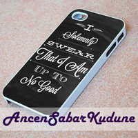 Quote i solemnly swear Harry Potter - Phone case,iphone 4/4s,5/5s/5c/6/6+/Samsung S3/4/5/6/ ipod touch 4/5