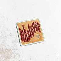Patch Ya Later Whatever Patch - Urban Outfitters