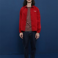 Tyakasha Toy Shop Unisex Red Coach Jacket