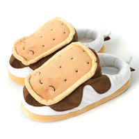USB S'mores Warming Slippers