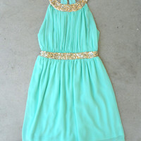 .Grecian Embrace Dress in Mint [5264] - $48.00 : Feminine, Bohemian, & Vintage Inspired Clothing at Affordable Prices, deloom