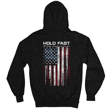 Kerusso Hold Fast to Faith Family Freedom USA Unisex Hoodie T Shirt