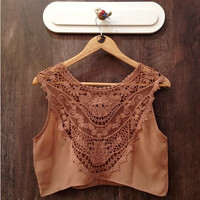 Carmel Colored Lace Bralet