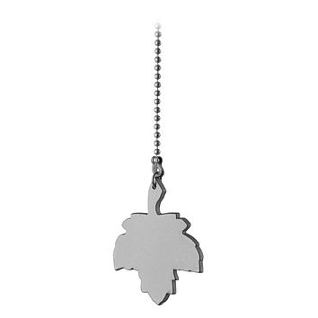 Westinghouse Pull Chain with Maple Leaf (Brushed Pewter)