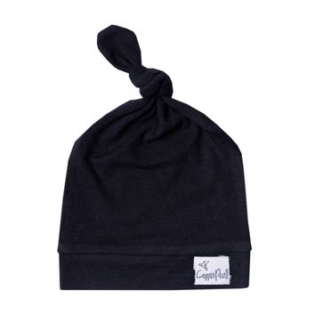Top Knot Hat - Midnight