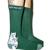 DON'T FUX WITH CATS SOCKS