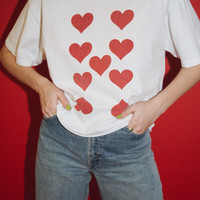 Aleena Nine of Hearts Top