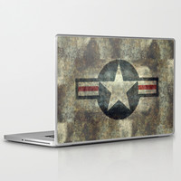 US Air force Roundel insignia Laptop & iPad Skin by LonestarDesigns2020 - Flags Designs +