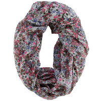 Payless, Women's Ditzy Floral Infinity Scarf, Women's, Accessories