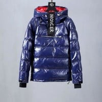 Moncler Men fashion down jacket black