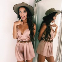 Summer Sleeveless Sexy Jumpsuit For Party Loose
