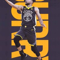 Golden State Warriors Stephen Curry Poster 22x34