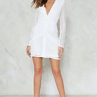 The Hole Shebang Crochet Dress