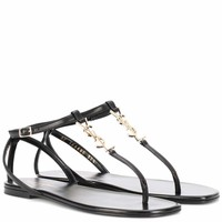 Nu Pieds 05 YSL leather sandals