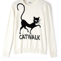 Catwalk Cashmere Jumper by Moschino Cheap & Chic
