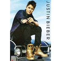 JUSTIN BIEBER POSTER Amazing Shot RARE HOT NEW 24x36