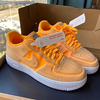 Nike Air Force 1 '07 LX deconstructed graphic digital personality wild sports shoes