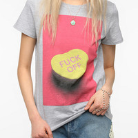 Urban Outfitters - Workshop F*ck Off Heart Tee