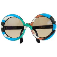 1960s Oversized Iconic Pucci Sunglasses