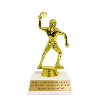 Give the Patriarchy a Good Smack on the Ass and Tell It To Smile More Often Gold Trophy