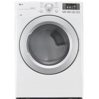 LG Electronics 7.4 cu. ft. Electric Dryer in White, ENERGY STAR-DLE3170W - The Home Depot