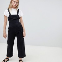 Weekday Wide Leg Denin Jumpsuit at asos.com