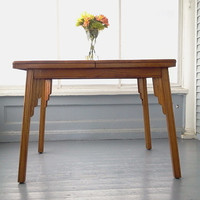 Sale, Kitchen Table, Dining Table, Art Deco, Solid Oak