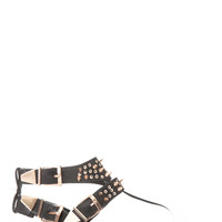 Copper Spiked Sandals